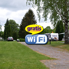 Wifi over de hele camping